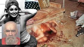 """Krutá """"Rodina"""" Charlese Mansona (†83): Vražda krásné Sharon Tateové měla odstartovat rasovou válku!"""