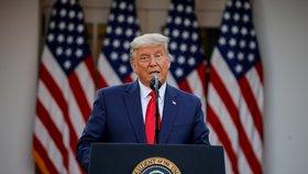 """Trump dál odmítá porážku. """"Volby jsem vyhrál. Podvody s hlasy po celé zemi,"""" hřímá na sítích"""