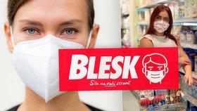 Deník Blesk myslí na zdraví svých čtenářů: Máme pro vás statisíce respirátorů