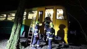 Tragédie na kolejích: Vlak ve Zbraslavi srazil ženu, na místě zemřela