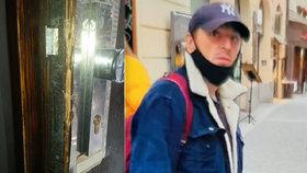Ženy okradli ve spánku: Pražští policisté pátrají po neznámém muži