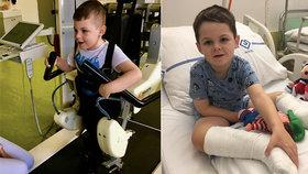 Nicolas (7) má po komplikovaném porodu vážné zdravotní problémy: Čeká ho riskantní léčba