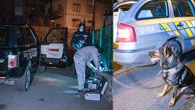 Zloději ukradli v Davli luxusní auto majiteli před očima: Po zběsilé honičce získal vůz zpět