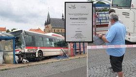 Kubíček (†7) zemřel ve Slaném pod koly autobusu: Řidič Karel poslal dopis rodině!