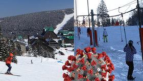Jak bude vypadat lyžování v ČR? Rozestupy u vleků, online platby a dezinfekce, míní experti