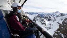 Nejisté výhledy lyžování v Alpách: Itálie a Francie chtějí střediska zavřít. Co Rakousko?