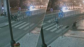 Brutální rvačka v Praze 2: Zbitý muž upadl do bezvědomí a přišel o věci za 40 tisíc
