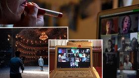 Revoluce v pražských divadlech: Hry vysílají v televizi, herci z Národního zase učí děti