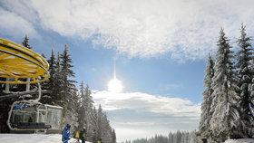Zimní atrakce v moravských horách překvapí několika nej
