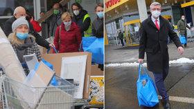 Havlíček na inspekci v obchodech: Šikanu odmítá, z Ikey si vezl tašku hraček pro děti