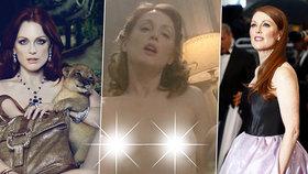 Zrzavá dračice Julianne Moore slaví 60 let: Kde všude se svlékla?!