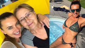 Alice Bendová s maminkou na nákupech: Potřebovaly na WC... Málem ukradly auto i s dítětem!