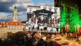 Tipy na víkend: Vánoční atmosféru načerpejte u betlémů! Vyrazte do jeskyní nebo na zámek