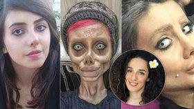 """""""Zombie"""" Angelinu odsoudili na 10 let! Kazila prý mládež a působila veřejné pohoršení"""