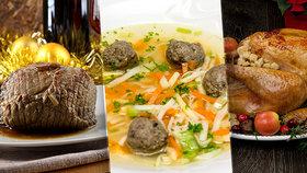 Štěpánské hody: Vsaďte na krůtu s nádivkou i hovězí pečeni!