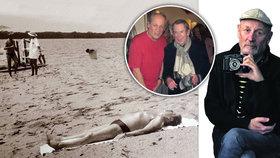 Havel na pláži i tajná svatba! Fotograf hvězd Jiří Jírů (74) o unikátní fotce i bouřlivém životě