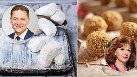 Napečte si na Vánoce jako Saskia Burešová a další slavní! Medovníkové kuličky, rohlíčky i kynuté cukroví