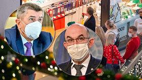 Chaos vlády: Obchody nezavře, nakupovat se v nich nemá? Omezte pohyb ve dne, říká Blatný