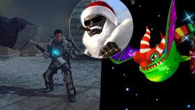 Rolničky, rolničky, paření je čas! 5 nejlepších vánočních videoher