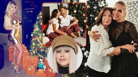 Vánoční módní inspirace hvězd podle Iny T.! Kolotočářský nevkus Lely, nebo sexy Rolins?