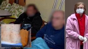 Horor v Levicích: Obyvatelé domova důchodců žadonili o jídlo kolemjdoucí, majitelku už zatkli