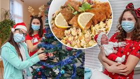 Vánoce v porodnici U Apolináře: O sváteční atmosféru maminky neochudí, co ale musí personál oželet?