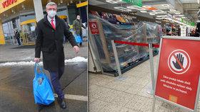 Zákaz prodeje pastelek v supermarketu: Havlíček vysvětluje zboží za páskami