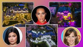 Veselé a osvětlené Vánoce celebrit: Nejkouzelnější i nejhorší světelné výzdoby! Kdo letos zazářil?