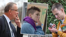 Čtvrt milionu dětských kuřáků i svolné trafiky děsí experty. A rozkouřila nás pandemie?