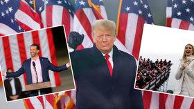 Chaos po vpádu do Kapitolu: Trumpův tým se drolí, Ivanka maže tweety a ztrácí i Melania