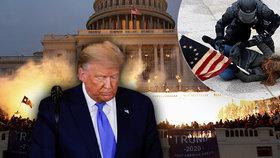 """""""Nezvladatelný sobec."""" Po útoku na Kapitol chtějí Trumpovu hlavu i republikáni. Skončí hned?"""
