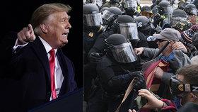 Pátá oběť násilí v Kapitolu: Zemřel policista, zraněných jsou desítky. A Trumpovi se rozpadá vláda