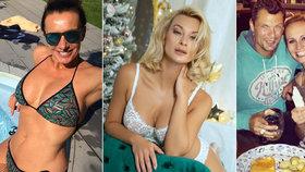Hubnoucí předsevzetí Absolonové, Bendové a dalších: Sexy Mottlová přibrala 10 kilo!