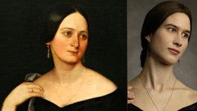 Utajená příbuzná Boženy Němcové: Dělí je přes 150 let, ale vypadají stejně!