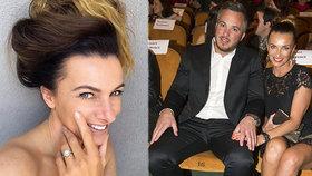 Alice Bendová (47) se zasnoubila a ukázala obrovský prsten! Romantika se ale nekonala...