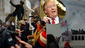 """""""Podněcuje vzpouru."""" Demokraté tasili ústavní žalobu na Trumpa, stihnou ho sesadit?"""