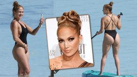 Drsné odhalení Jennifer Lopezové: Dokonalý zadeček? Pouze dobrá retuš!