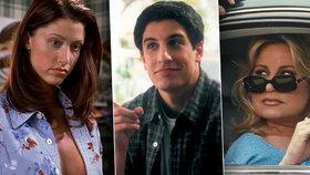 Prci, prci, prcičky 2 po 20 letech! Jak dnes vypadá Stiflerova máma, svůdná Nadia a smolař Jim?