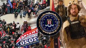FBI vyšetřuje přes 160 osob kvůli útoku na Kapitol. Na stole je krádež pošty i vražda