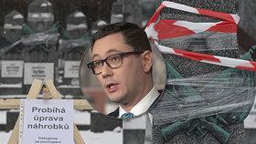 Poškozují hroby rudoarmějců na Olšanech! zlobili se lidé, přisadil si i Ovčáček. Všechno je jinak
