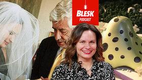 Blesk Podcast: 12 let od úmrtí Jana Kaplického (†72). Vdova Eliška v tento den bourá