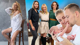 Zpěvačka Markéta Konvičková má plodný rok: Zásnuby, stěhování, miminko a nástup do televize!