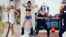 Cvičenka Agáta po 15 dnech diety: V minikraťasech a podprsence ukázala výsledek!
