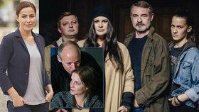 Hlava medúzy s detektivkou Čvančarovou sklízí kritiku! Které herečky potkalo to samé?
