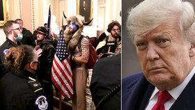 """""""Poslouchali jsme prezidentovy příkazy."""" Výtržníci z Kapitolu se odvolávají na Trumpa"""