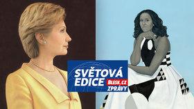 Tajné životy prvních dam USA: Bidenová boří tabu. Co prozrazují portréty ostatních?