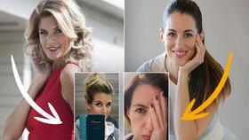 České krásky touží po kadeřnictví! Kdo musel přiznat šediny a kdo svou skutečnou barvu?