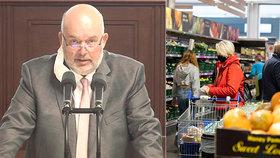 Na kvóty pro české potraviny kývla Sněmovna. Babiš peskuje své poslance, EU varuje