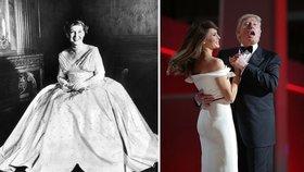 Jaké inaugurační garderoby vynesly první dámy? Podívejte se až do roku 1933!
