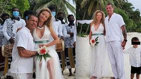 Pornokrál Rosenberg se podruhé oženil! Na Maledivách řekl ANO fotografce